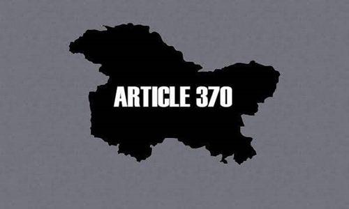 Article 370 – Legal Dimensions