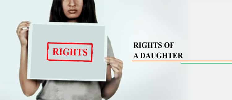 A DAUGHTER'S RIGHT TO THE PARENT'S PROPERTY